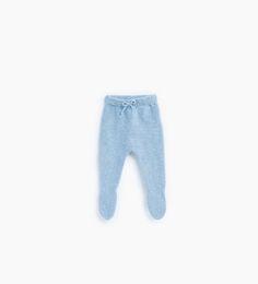 Imagem 1 de Calças com pés básicas lacinho da Zara