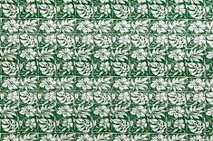 polyester and cotton fabric. Colors and shapes of this picture may vary from the original fabric. Hawaiian Print, Playsuit, Hibiscus, City Photo, Cotton Fabric, Shapes, Green, Pictures, Color
