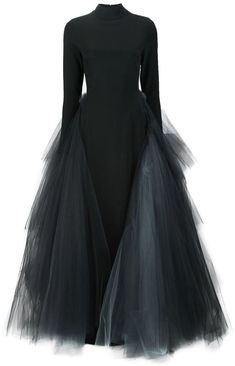 Christian Siriano layered tule gown Christian Siriano, Look At You, Dress Me Up, Pretty Dresses, Dress To Impress, Beautiful Outfits, Evening Dresses, Fashion Dresses, Clothes