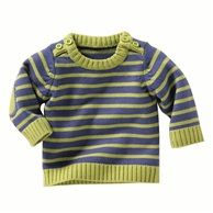Baby Boy's Striped Knitted Sweater