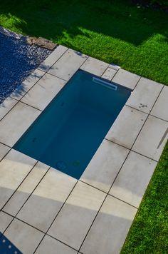 @wat Meersalzwasser-Tauchbecken / Minipool | homify Mini Pool, Moderne Pools, Outdoor Decor, Sauna, Home Decor, Portal, House Ideas, Style, Gardens