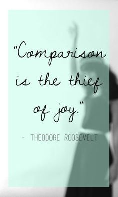 Comparison eliminates contentment and then kills inner joy! Quote by Patricia Fidler Great Quotes, Quotes To Live By, Me Quotes, Motivational Quotes, Inspirational Quotes, Quotes Women, Cool Words, Wise Words, Quotable Quotes