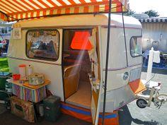 Vingage Trailer Rally, Pismo Beach CA Retro Caravan, Camper Caravan, Retro Campers, Small Caravans, Vintage Caravans, Vintage Trailers, Tiny Camper, Small Campers, Glamping