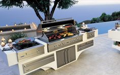 So now you have a kitchen inside, what about outside? This is what you're outside Kitchen needs.