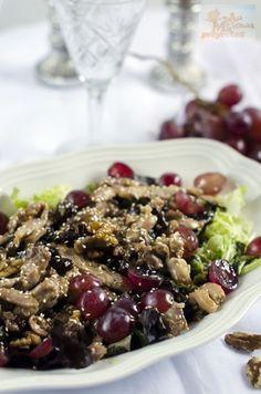 Ensalada-templada-pollo-uvas-nueces