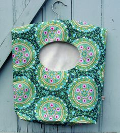 Clothespin bag  laundry bag by chezlele on Etsy, $23.50
