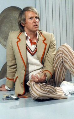 5th Doctor, Peter Davison, May.