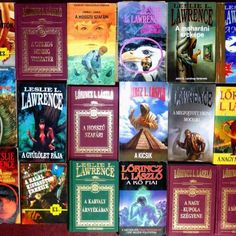 Dedikált L.L. Lawrence könyvek 29 + 3 mű | AntikPorta - Online régiségpiac