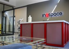 Inospace transforms office, industrial and commercial spaces into unique workspace solutions Commercial Property For Rent, Front Desk, Industrial, Inspiration, Biblical Inspiration, Industrial Music, Inspirational, Inhalation