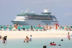 Royal Caribbean Cruise at CoCo Cay