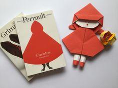ORIGAMI LITERARIO Origami, Diy, Short Stories, Bricolage, Origami Paper, Do It Yourself, Homemade, Origami Art, Diys