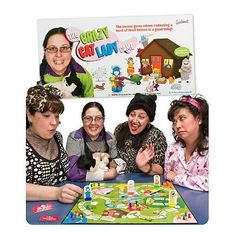 Crazy Cat Lady Game Accoutrements http://smile.amazon.com/dp/B001J7AIAU/ref=cm_sw_r_pi_dp_XHtEub0RZMBT1 |||| And then visit OUR site at http://www.whiskerstailsandferals.org and FB page at https://www.facebook.com/pages/Whiskers-Tails-and-Ferals/165066516402