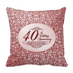 >>>best recommended          40th Wedding Anniversary Throw Pillow           40th Wedding Anniversary Throw Pillow lowest price for you. In addition you can compare price with another store and read helpful reviews. BuyHow to          40th Wedding Anniversary Throw Pillow please follow the ...Cleck Hot Deals >>> http://www.zazzle.com/40th_wedding_anniversary_throw_pillow-189635767176086261?rf=238627982471231924&zbar=1&tc=terrest