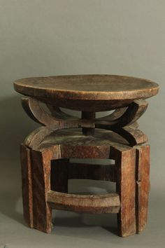 Chiefs stool, Tanzania. (Gallery - Tribal Gathering London - Bryan Reeves)