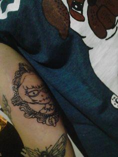 Tattoo Boneca e moldura  / By Celson KIsler - Kisler Art Stock