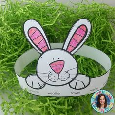 Bunny Headbands for speech therapy. Spring/ Easter themed therapy idea. - repinned by @PediaStaff – Please Visit ht.ly/63sNt for all our pediatric therapy pins