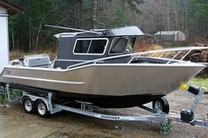 Jaxon Craft Custom-Built Deep V Offshore Sport Fishing Boats :: Merville, BC Sport Fishing Boats, Fly Fishing, Fishing Tips, Speed Boats, Power Boats, Pontoon Houseboat, Camper Boat, Utility Boat, Small Yachts