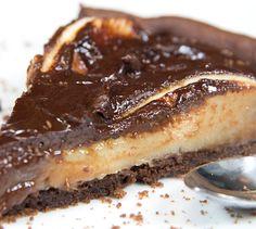 Recette Tarte aux poires et chocolat - Envie de bien manger @valeriemousseau