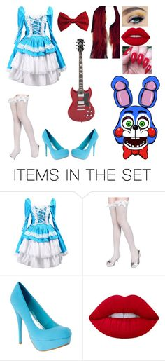 Toy Bonnie (Cosplay Outfit Idea 2) by slicer-seductress on Polyvore