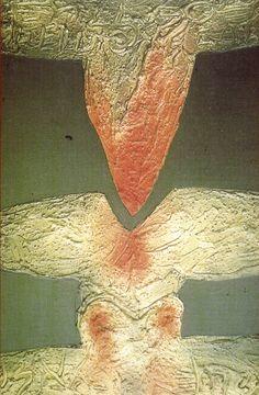 """""""1, 2, 3, Tablas o Cultura de lavados"""" exposición de Alejandro Stock Caja Castilla-La Mancha Febrero 1997 #CajaCastillaMancha #Cuenca #AlejandroStock"""