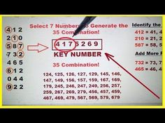 1498 Best LOTTERY images in 2019   Lottery numbers, Winning