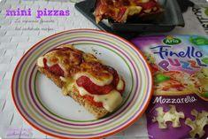 Mini pizzas {la merienda favorita del cachorrito mayor} #pizza @naturarla   http://blgs.co/xaVT1T