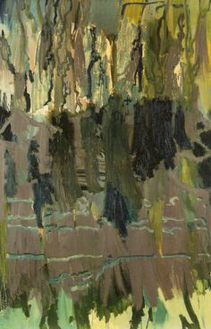 """Per Kirkeby This is a painting but the """"geologic"""" layers are very intriguing."""