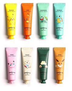 Tonymoly Pokemon Hand Cream (30ml) 8 Types   #Tonymoly