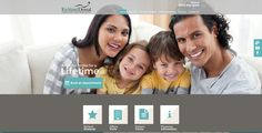 #sesamewebdesign #sds #madison #dental #responsive #blue #green #gray #sans