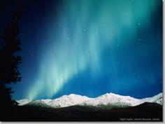 Night Lights, Aurora Borealis, Alaska
