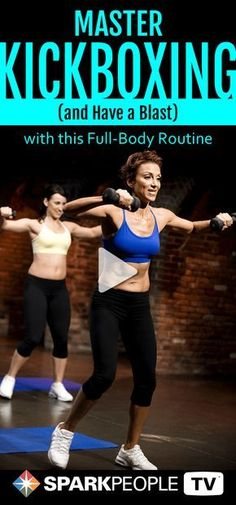 Violet Zaki leads you through this high-intensity cardio kickboxing routine with a focus on proper form and mastery of the foundation of cardio kickboxing moves. Work at your own pace to get a full-body workout that improves core strength, tones and tightens arms, and increases leg strength.
