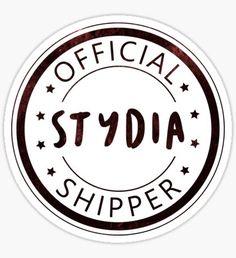 Official Stydia Shipper Sticker