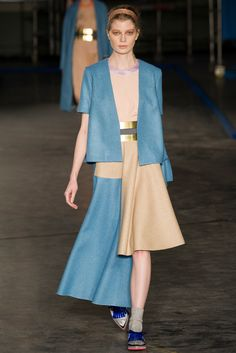 Roksanda Ilincic Fall 2014 RTW - Review - Vogue