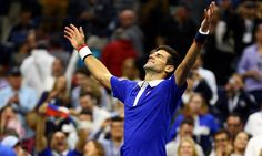 The world's top two players met for the US Open championship – and it was Novak Djokovic who emerged victorious Tennis World, Professional Tennis Players, Sports Awards, Tennis Stars, Us Open, Keep On, Roger Federer, Slammed, Victorious