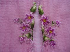 Kebaya Encim Warna Pink