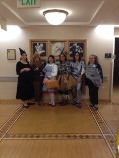 Nurse Halloween scrubs/costumes on the maternal/newborn unit . Wizard of oz.
