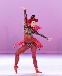 ALICE (in wonderland) Cincinnati Ballet Sarah Hairston as the Queen of Hearts ♥ www.thewonderfulworldofdance.com