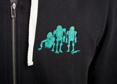 Zombie hoodie from Threadless