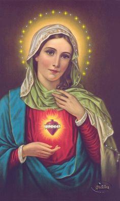 Resultado de imagen para inmaculado corazon de maria