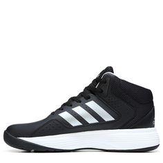d1c4fc633a8c Adidas Men s Neo Cloudfoam Ilation Mid Wide Basketball Shoes (Black White)  Logo Basketball
