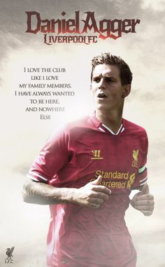 My personal favorite player - Defender Daniel Agger Liverpool Vs Manchester United, Liverpool Players, Liverpool Fans, Liverpool Football Club, Gerrard Liverpool, The Love Club, My Love, Kenny Dalglish, Premier League Soccer