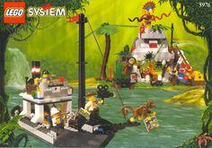 Bricker - Минифигурка LEGO - adv010 Johnny Thunder (Desert)