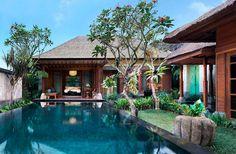 One Bedroom Pool Villa – Swimming Pool. Mandapa, a Ritz-Carlton Reserve, Ubud, Indonesia. © The Ritz-Carlton Hotel Company Architectural Digest, Bali Resort, Best Resorts, Hotels And Resorts, Tropical Architecture, Most Luxurious Hotels, Tropical Houses, Pool Houses, Pool Designs