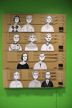 Mechanical Cartoon, una instalación de Eunyoung Park.