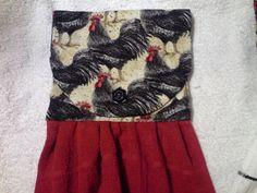 4 for 25 chicken towels by mylittlegirlsshop on Etsy