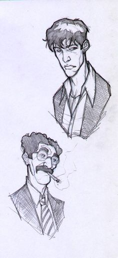sketches mad last year about a famous Comic character ( and his sidekick Groucho )of Italian pubblishers Sergio Bonelli Editore. Dylan and Groucho Dylan Dog, Serie Tv, Comic Character, Sketches, Deviantart, Comics, Dogs, Art, Drawings