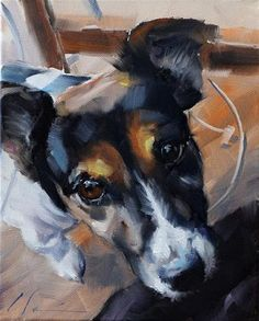 The Daily Dog - Thirteen - Original Fine Art for Sale - © Clair Hartmann