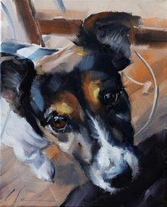 The Daily Dog - Thirteen - Original Fine Art for Sale - © Clair Hartmann