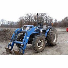 New Holland TN75A tractor salvaged for used parts. This unit is available at All States Ag Parts in Sikeston, MO. Call 877-530-7720 parts. Unit ID#: EQ-23597. The photo depicts the equipment in the condition it arrived at our salvage yard. Parts shown may or may not still be available. http://www.TractorPartsASAP.com