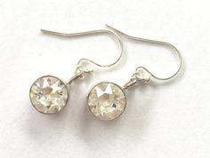 Clear stone earrings. Crystal clear stone earrings door Fedaro